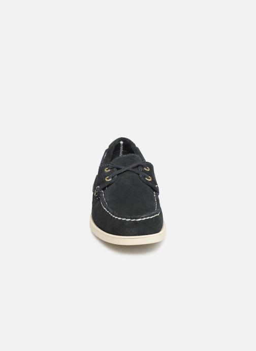 Chaussures à lacets Sebago Docksides M C Bleu vue portées chaussures