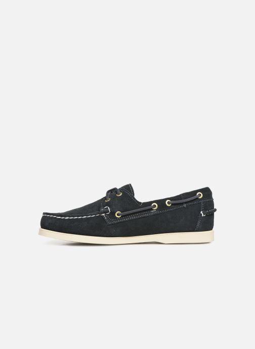 Chaussures à lacets Sebago Docksides M C Bleu vue face