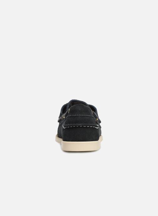 Chaussures à lacets Sebago Docksides M C Bleu vue droite