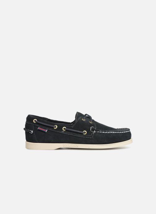 Chaussures à lacets Sebago Docksides M C Bleu vue derrière