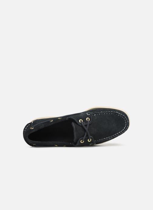 Chaussures à lacets Sebago Docksides M C Bleu vue gauche