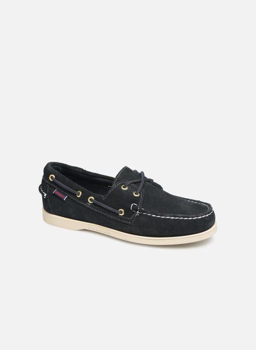 Chaussures à lacets Sebago Docksides M C Bleu vue détail/paire
