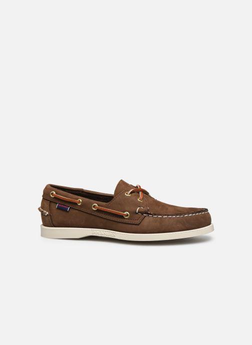 Chaussures à lacets Sebago Docksides M C Marron vue derrière