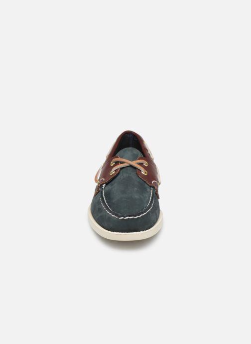 Chaussures à lacets Sebago Spinnaker C Bleu vue portées chaussures