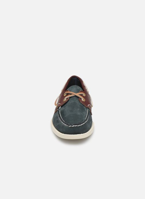 Zapatos con cordones Sebago Spinnaker C Azul vista del modelo