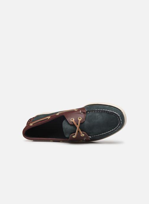 Zapatos con cordones Sebago Spinnaker C Azul vista lateral izquierda