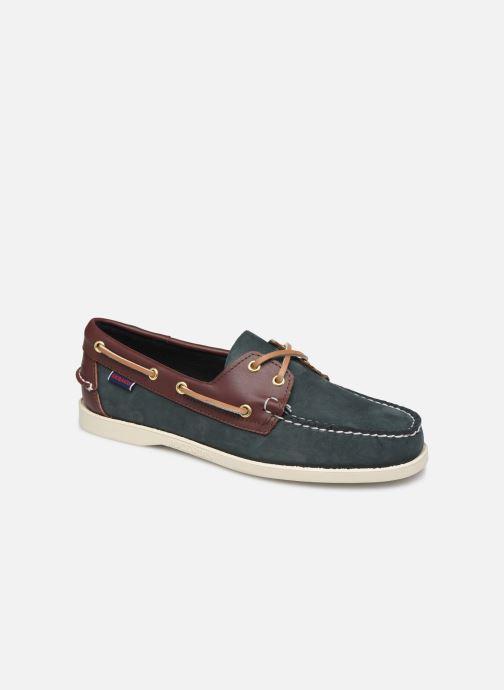 Zapatos con cordones Sebago Spinnaker C Azul vista de detalle / par