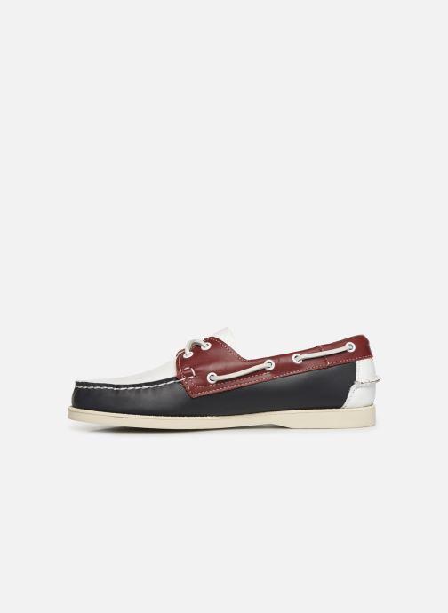 Zapatos con cordones Sebago Docksides Portland Spinnaker Azul vista de frente