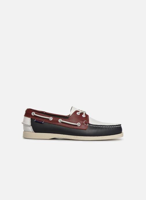 Zapatos con cordones Sebago Docksides Portland Spinnaker Azul vistra trasera