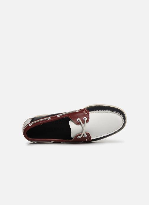 Zapatos con cordones Sebago Docksides Portland Spinnaker Azul vista lateral izquierda