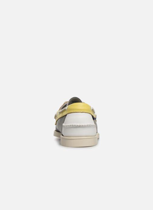 Chaussures à lacets Sebago Docksides Portland Spinnaker Bleu vue droite