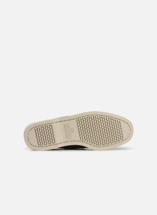 Chaussures à lacets Sebago Docksides Portland Spinnaker Bleu vue haut