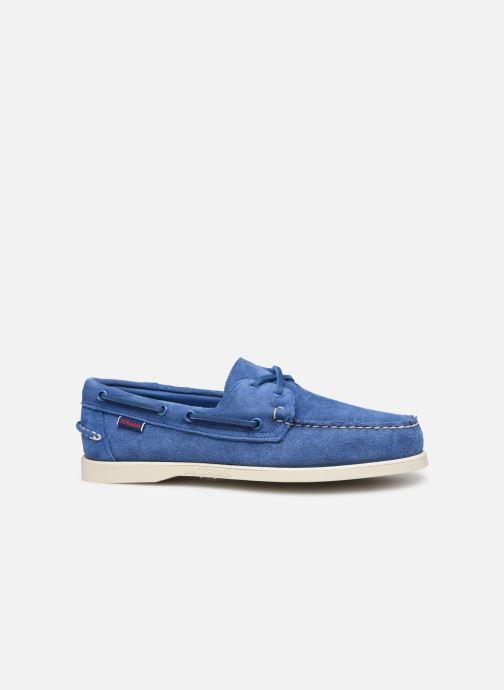 Chaussures à lacets Sebago Docksides Portland Suede Bleu vue derrière