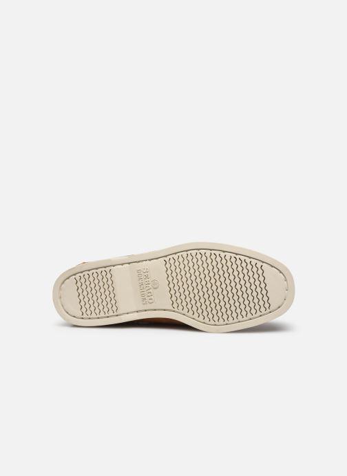 Chaussures à lacets Sebago Portland Docksides Suede Marron vue haut