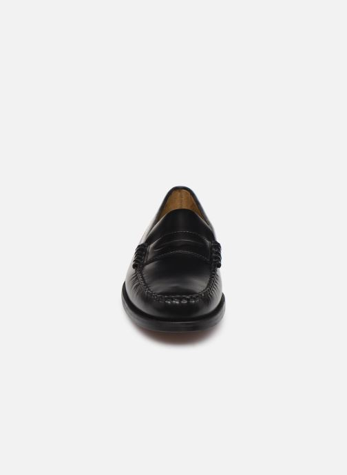 Mocassins Sebago Classic Penny Brushed C Noir vue portées chaussures