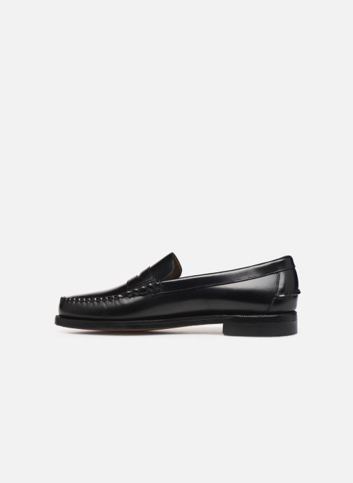 Loafers Sebago Classic Penny Brushed C Black front view