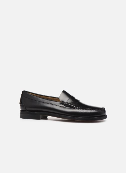 Loafers Sebago Classic Penny Brushed C Black back view