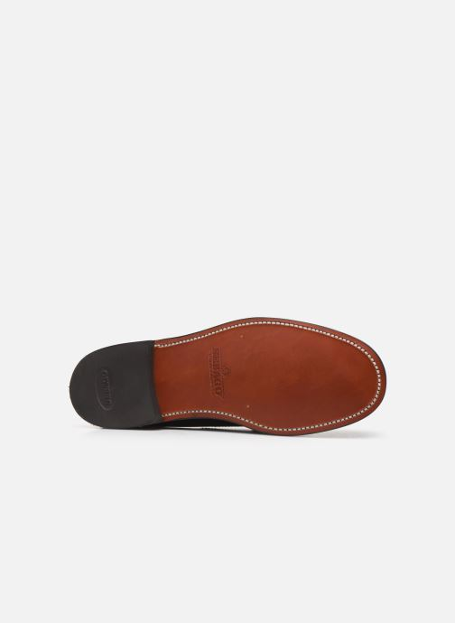 Loafers Sebago Classic Penny Brushed C Black view from above