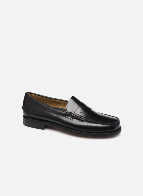 Loafers Sebago Classic Penny Brushed C Black detailed view/ Pair view