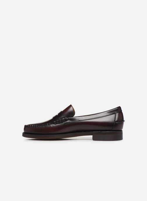 Loafers Sebago Classic Penny Brushed C Burgundy front view