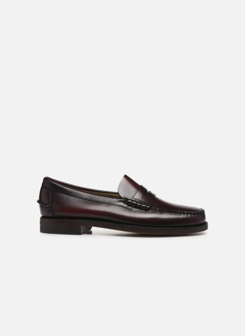 Loafers Sebago Classic Penny Brushed C Burgundy back view