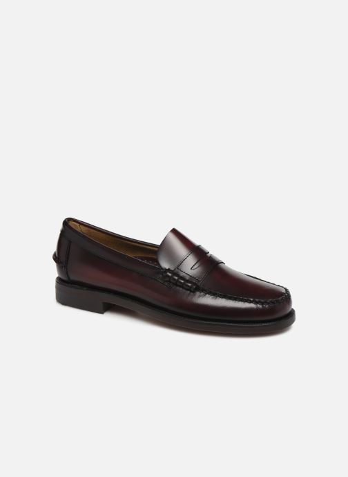 Loafers Sebago Classic Penny Brushed C Burgundy detailed view/ Pair view