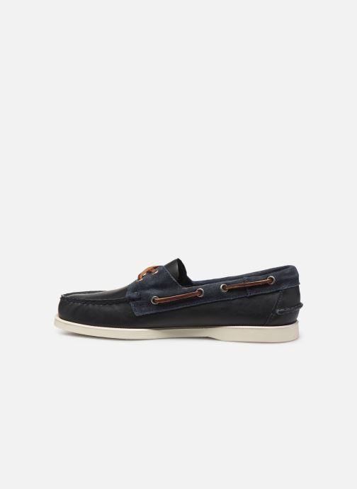 Chaussures à lacets Sebago Portland Winch Bleu vue face