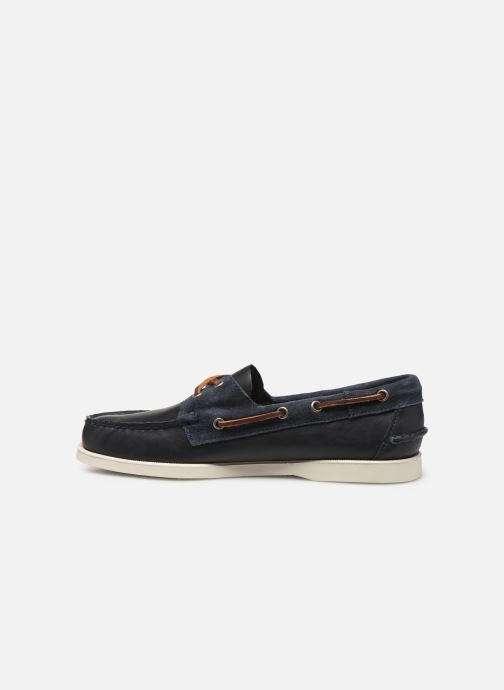 Zapatos con cordones Sebago Portland Winch Azul vista de frente
