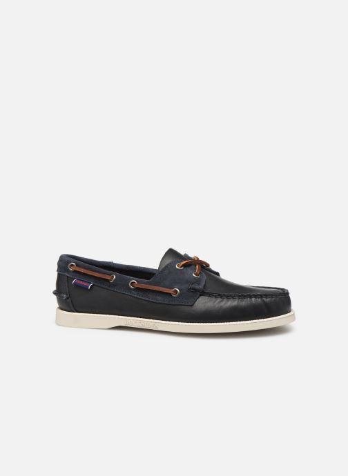Zapatos con cordones Sebago Portland Winch Azul vistra trasera