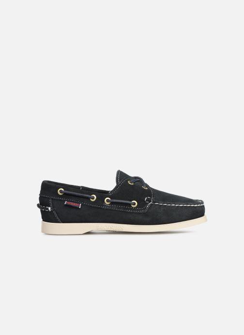 Chaussures à lacets Sebago Docksides Portland Suede W Bleu vue derrière