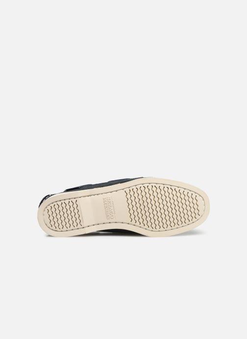 Chaussures à lacets Sebago Docksides Portland Suede W Bleu vue haut