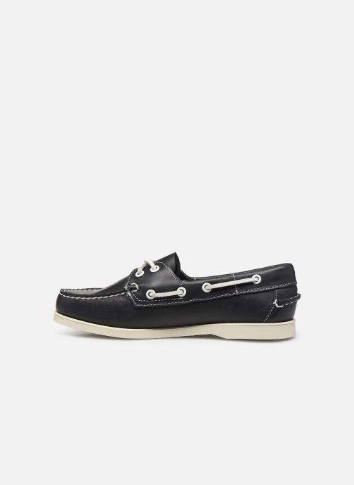 Chaussures à lacets Sebago Docksides Portland W Bleu vue face