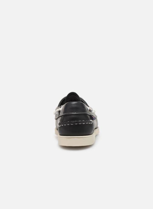 Chaussures à lacets Sebago Docksides Portland W Bleu vue droite
