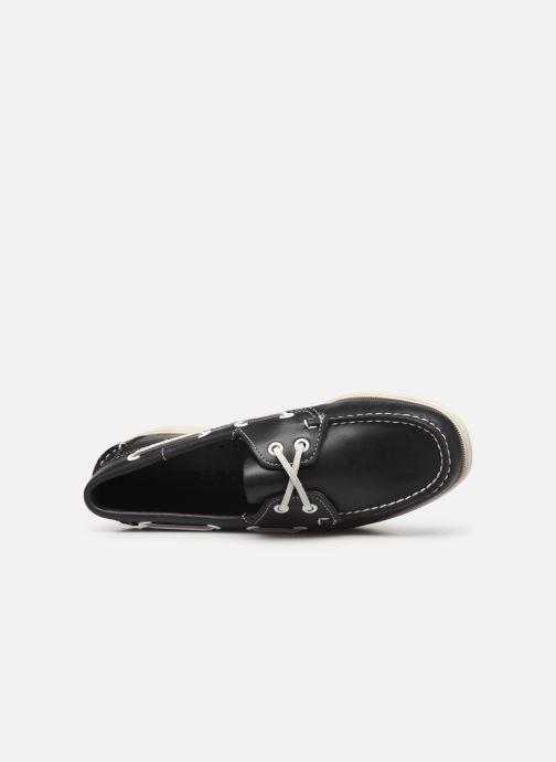 Chaussures à lacets Sebago Docksides Portland W Bleu vue gauche