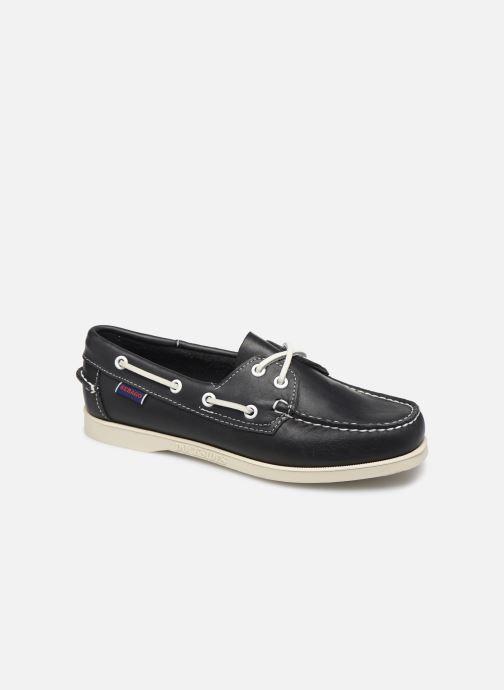 Chaussures à lacets Sebago Docksides Portland W Bleu vue détail/paire