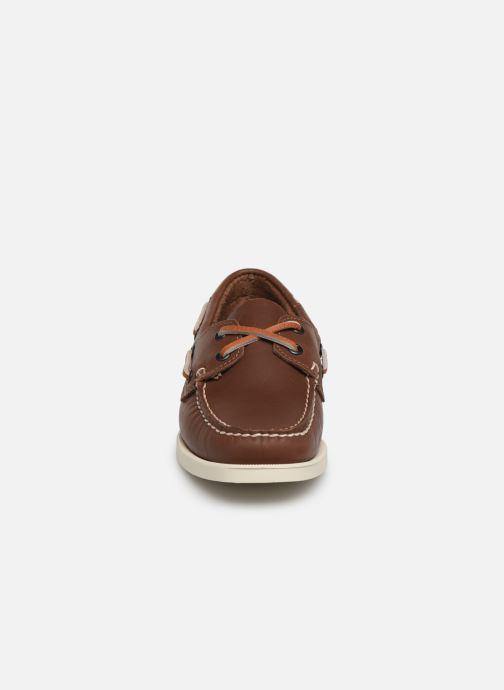 Chaussures à lacets Sebago Docksides Portland W Marron vue portées chaussures