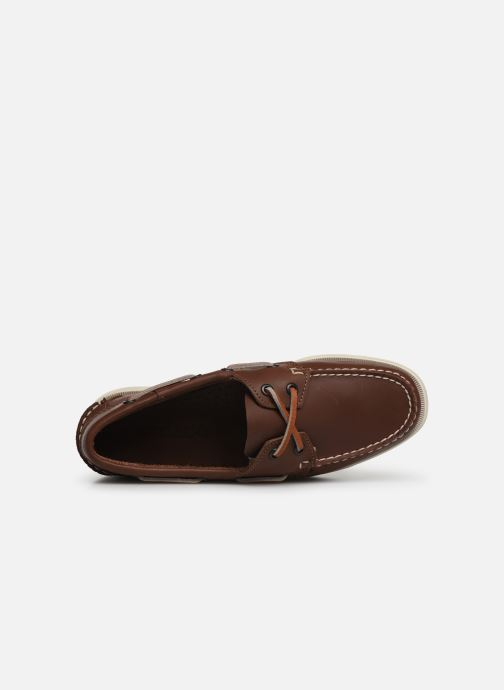 Chaussures à lacets Sebago Docksides Portland W Marron vue gauche