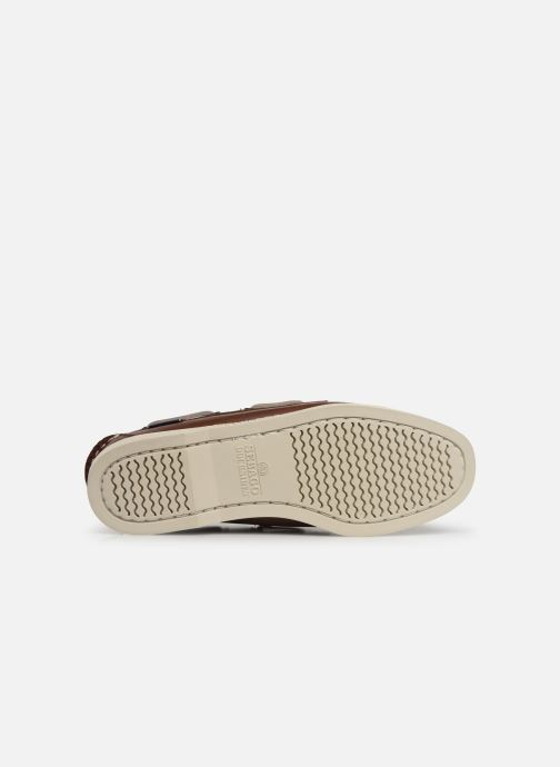 Chaussures à lacets Sebago Docksides Portland W Marron vue haut