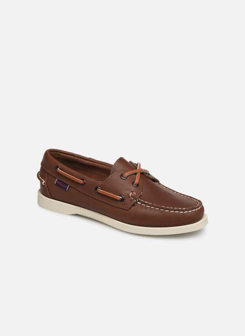 Chaussures à lacets Sebago Docksides Portland W Marron vue détail/paire
