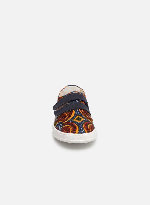 Baskets Panafrica Bamako Multicolore vue portées chaussures
