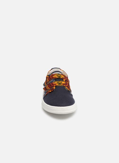 Baskets Panafrica Tombouctou Multicolore vue portées chaussures