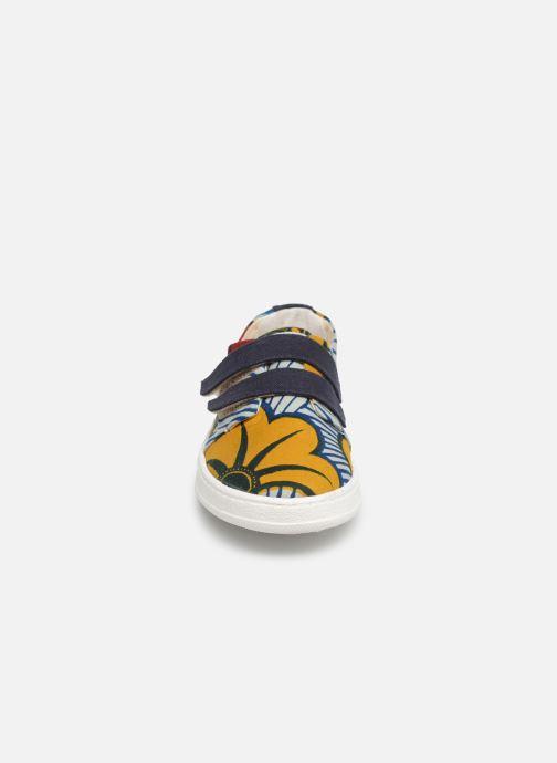 Baskets Panafrica Ouagadougou Multicolore vue portées chaussures