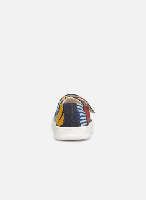 Baskets Panafrica Ouagadougou Multicolore vue droite