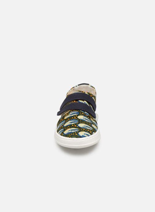 Baskets Panafrica Abidjan Multicolore vue portées chaussures
