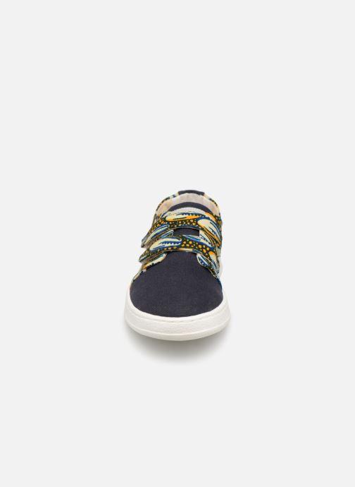 Baskets Panafrica Bouake Multicolore vue portées chaussures