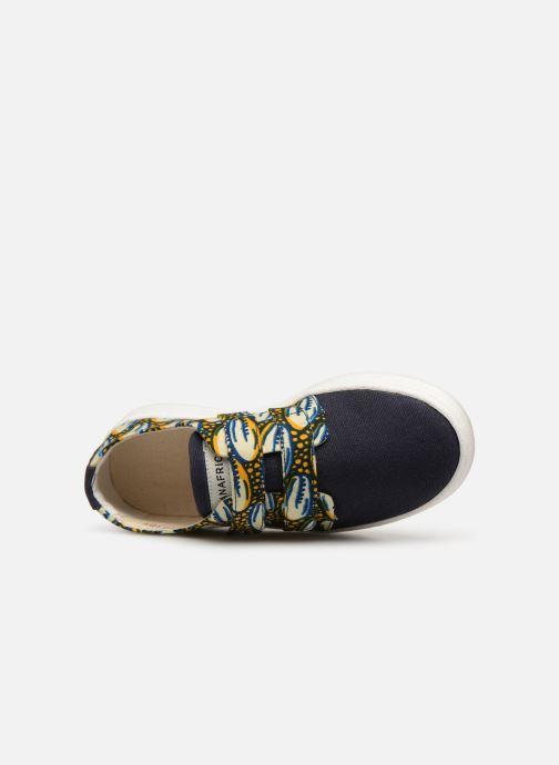 Baskets Panafrica Bouake Multicolore vue gauche