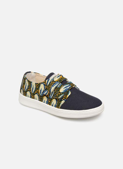 Baskets Panafrica Bouake Multicolore vue détail/paire