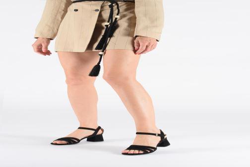 Sandales et nu-pieds Geox D SEYLA SAN D D92DUD Jaune vue bas / vue portée sac