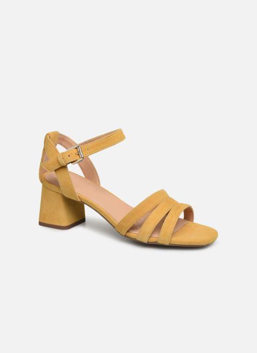 Sandales et nu-pieds Geox D SEYLA SAN D D92DUD Jaune vue détail/paire