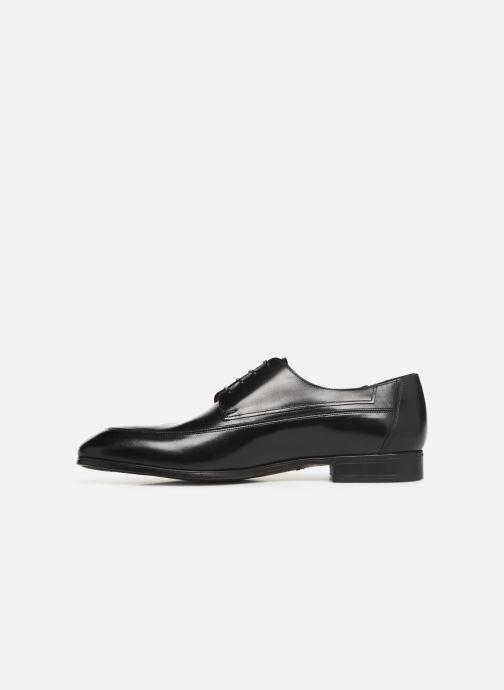 Zapatos con cordones Santoni Simon 16620 Negro vista de frente